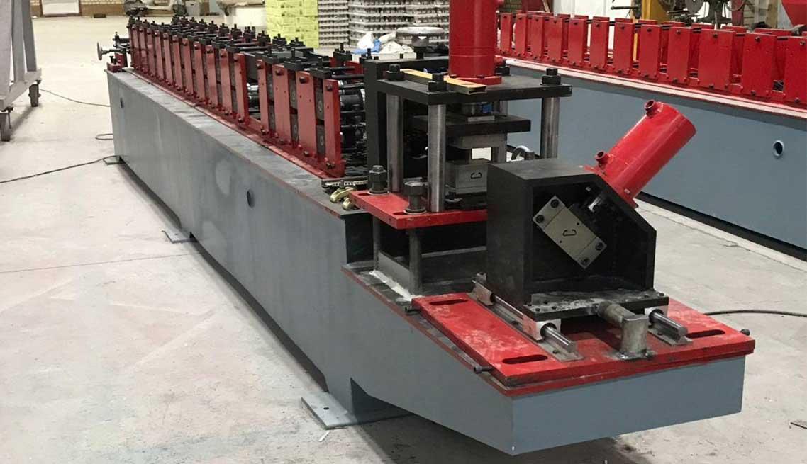 دستگاه رول فرمینگ پروفیل سازه گلخانه ای