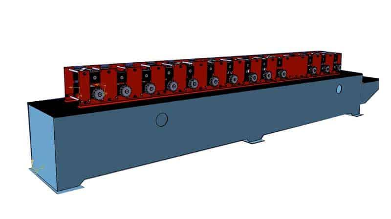 طراحی دستگاه رول فرمینگ
