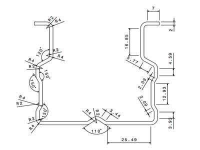 رول-فرمینگ-سازه-قفسه-بندی